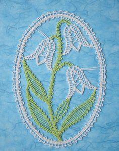 Embroidery Project 7 Romanian Lace, Bobbin Lacemaking, Bobbin Lace Patterns, Lace Heart, Lace Jewelry, Needle Lace, Irish Lace, Lace Making, Lace Flowers