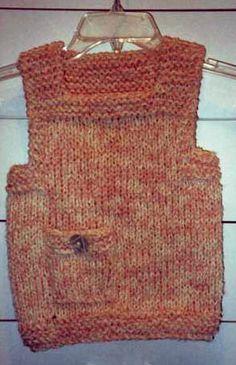 Knit Patterns for Vests, Free Knitting Patterns