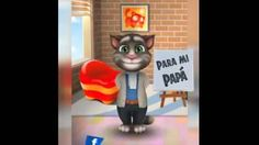 feliz dia papa gato tom - YouTube
