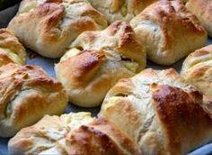 Drożdżówki z ciasta pływającego Hot Dog Buns, Hot Dogs, Nutella, Bread, Food, Brot, Essen, Baking, Meals