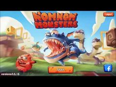 NomNom Monsters android game first look gameplay español