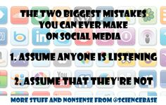Two online mistakes you ought not make