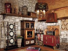 Country Style Kitchen Cabinets http://bernadettelivingston.com/43-kitchen-cabinetry