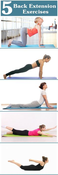 its important to do back exercises if you exercise your abs....5 Best Back Extension Exercises To Strengthen Your Back
