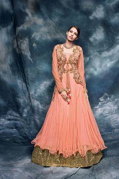 00a36fb8f6b Buy latest salwar kameez designs and designer salwar suits online. Grab  this net embroidered and patch border work designer floor length salwar  suit.