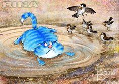 Сообщество иллюстраторов | Иллюстрация Рина З. - Промахнулся.... 2D.