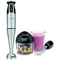 Amazon.com: Cuisinart CSB-80 Smart Stick Power Trio High Torque Hand Blender: Electric Hand Blenders: Appliances