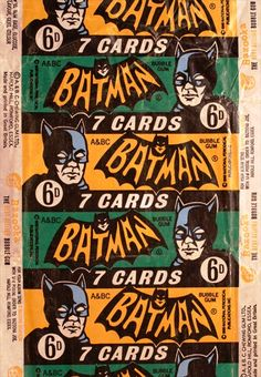 batman candy wrappers