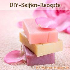 Seife herstellen - Seifen-Rezept: Rosenseife selber machen aus nur drei Zutaten, gönnen Sie sich ein wenig extravaganten Luxus ...