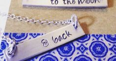 Just Pinned to How To Make It: To The Moon and Back Hand Stamped...