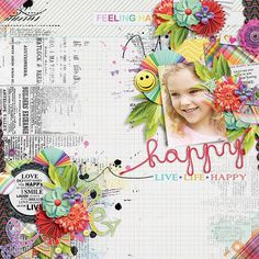 This Happy Place Collection by WendyP Designs http://www.digitalscrapbookingstudio.com/collections/t/this-happy-place-by-wendyp-designs/ http://www.mscraps.com/shop/wendypdesigns-ThishappyplaceBundledCollection/ Template by Crystal Livesay