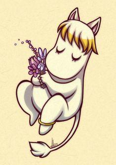 Moomin boy by vaporotem on DeviantArt Moomin Tattoo, Les Moomins, Tove Jansson, Tattoo Illustration, My Childhood Memories, Cartoon Shows, Cute Tattoos, Marimekko, Cartoon Drawings
