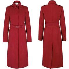 """LK Bennett """"Ami"""" coat in wool blend"""