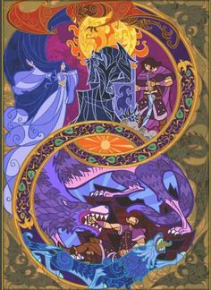 Fate of Beren and Luthien part 2 by jian guo