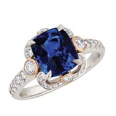 Fabergé Ella Sapphire Ring #Fabergé #diamond #sapphire #ring