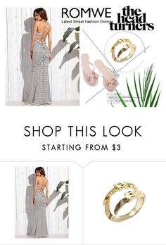 """""""romwe 3/IV"""" by obsessedwithnicestuff ❤ liked on Polyvore featuring romwe, romwefashion and fashioncombination"""