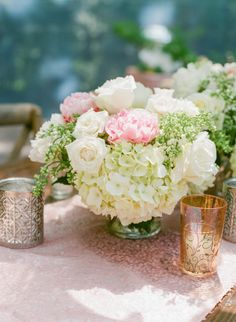 Love this, but all white flowers and the greens? Gallery & Inspiration | Picture - 2067866 - Style Me Pretty