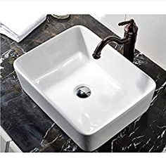Discounted KES Bathroom Sink, Vessel Sink Porcelain 20 Inch Above Counter White Countertop Bowl Sink for Lavatory Vanity Cabinet Contemporary Style, Above Counter Bathroom Sink, Farmhouse Bathroom Sink, Copper Bathroom, Vessel Sink Bathroom, Vanity Sink, Sink Faucets, Modern Bathroom, Master Bathroom, Vanity Cabinet
