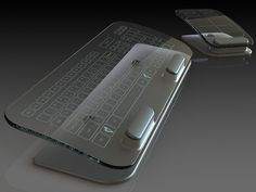 Multi-Touch Keyboard and Mouse by Jason Giddings, via Kickstarter. Soon!