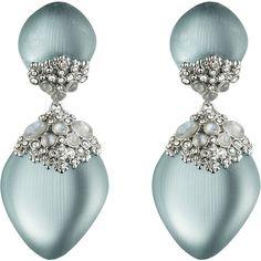 Teatro Moderne Rhodium Chandelier Clip Earring :: Earrings :: Jewelry By Category :: Alexis Bittar Punk Jewelry, Pearl Jewelry, Jewelry Art, Jewelry Accessories, Fashion Jewelry, Jewelry Design, Unique Jewelry, Jewellery, Women's Fashion