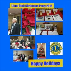Happy Holidays from the Lions Club g