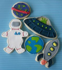 Outerspace Cookies