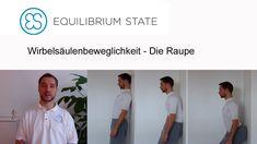 (Engl. Subs) ES-Exercise - Wirbelsäulenbeweglichkeit / Die Raupe/ Spine ...