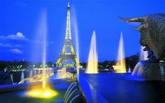 """Paris is the most romantic, beautiful and wonderful city in the world. Tourist throughout the world travel to Paris all year around. This city has lot to provide. It is also called """"The City of Lights"""" Paris Travel, France Travel, Dream Vacations, Vacation Spots, Vacation Ideas, Oh The Places You'll Go, Places To Travel, Travel Around The World, Around The Worlds"""