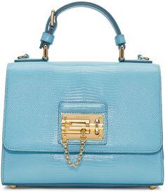 56d4a40a1d DOLCE  amp  GABBANA Blue Monica Handle Bag.  dolcegabbana  bags  shoulder  bags