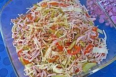 Lumpensalat 1 What's Soups? It does not take identify provided to the type of meals that is water eq Greek Recipes, Raw Food Recipes, Mexican Food Recipes, Vegetarian Recipes, Dinner Recipes, Ethnic Recipes, Vegetable Soup Healthy, Avocado Dessert, Easy Salad Recipes