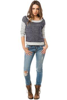 Moselle Sweater / ShopSosie #knit #sweater #shopsosie