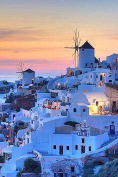 My favorite... Santorini, Greece