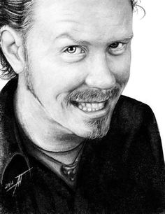 James Hetfield - cute as all get-out.