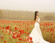 #blur #dress #fashion #flowers #girl #outdoors #person #wear #woman