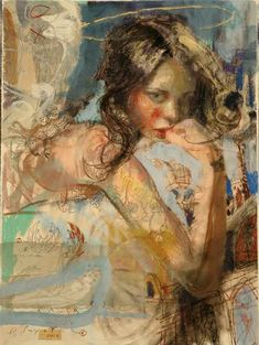 charles dwyer paintings | etiquetas charles dwyer figurative mixed media painting u s