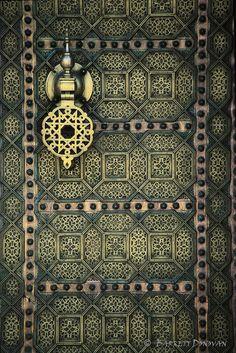 Rabat, Morocco Morocco door (by Barrett Donovan)