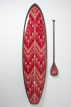 Limited-Edition Stand-Up Paddleboard, Kai Nalu - Anthropologie.com bohemian print surf