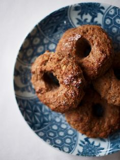 chestnut and pear donuts // vegan, gluten-free, nut-free, soy-free