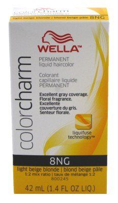 Wella ColorCharm Liquid -8NG Light Beige Blonde Haircolor 1.4 oz (Pack of 6) *** Check out the image by visiting the link. #hair