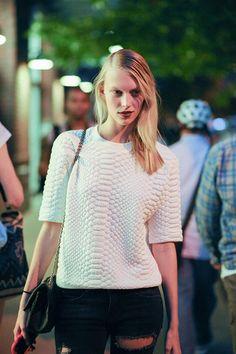 Street Style After Dark - #nyfw http://www.cosmopolitan.com/celebrity/fashion/street-style-after-dark-fashion-week#slide-1
