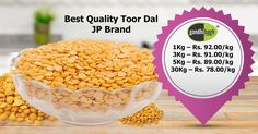 Tuwar Dal at it's Best Price..!! Unbelievable Deal only @gandhibagh.com  #Wholesale_Ke_Bhav_Ghar_Pe_Pao #FreeHomeDelivery #NoMinimumCartValue