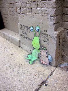 David Zinn: Sidewalk Chalk Art