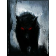 Stalking Hellhound Supernatural ❤ liked on Polyvore featuring supernatural, pics and animals