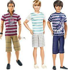 bonecos-ken-fashionistas-camisetas-e-bermudas