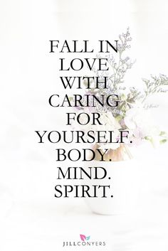 Self-care is a conscious decision to examine aspects of your life and take active steps to reset and revitalize your body, mind and spirit. Positive Vibes, Positive Quotes, Motivational Quotes, Inspirational Quotes, Funny Quotes, Mind Body Spirit, Mind Body Soul, Think, Mindfulness Meditation