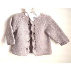 Aida top down Cardigan - P111 Knitting pattern by OGE Knitwear Designs