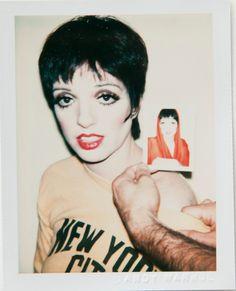 Liza Minnelli by Andy Warhol