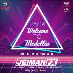 "Stream Free Pack Welcome To Medellin ""Jeiman Fx"" by JEIMAN FX from desktop or your mobile device Listening To Music, Welcome, Itunes, Packing, Neon Signs, Free, Bag Packaging"