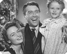 It was this film, It's a Wonderful Life, that introduced me to Donna Reed and Jimmy Stewart. Jimmy Stewart is one of my favorite actors...in fact, he stars in my favorite movie of all time...Rear Window!