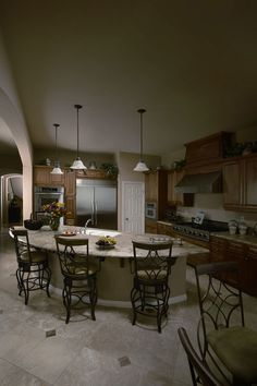 Dinning Before Dark Bathrooms, Before After Photo, Beautiful Space, Room Interior, Dining Table, Living Room, Kitchen, Inspiration, Furniture